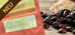 Urwaldkaffee aus Columbien