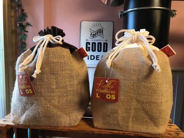 Kaffeeroesterei Loos Zubehoer Jutesaeckchen 6