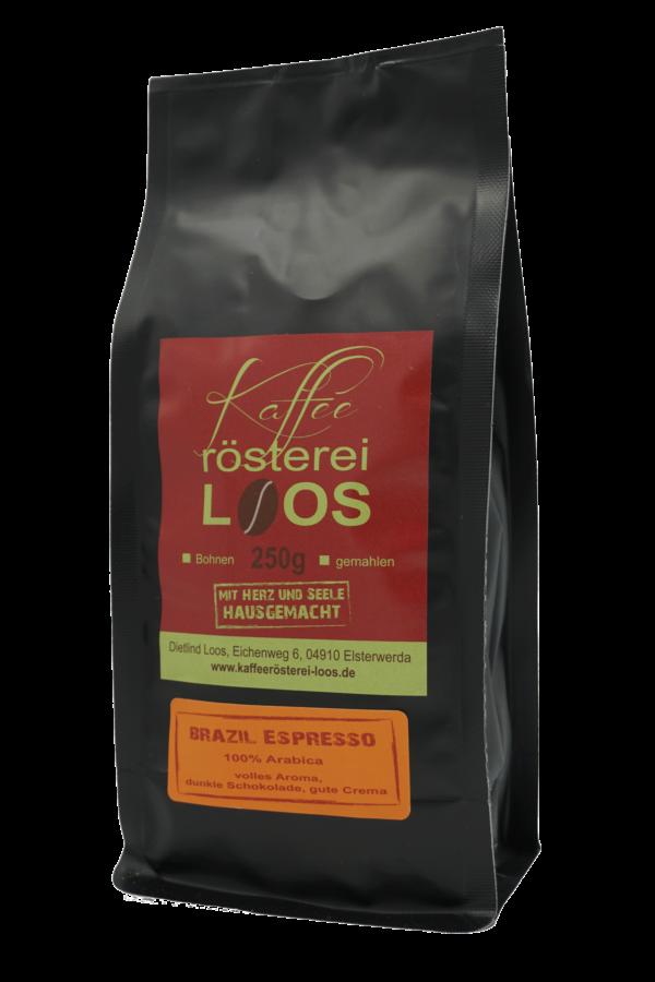 Brazil Espresso Röstung