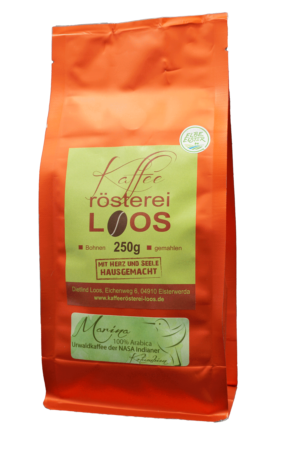 Urwaldkaffee Marina aus Columbien